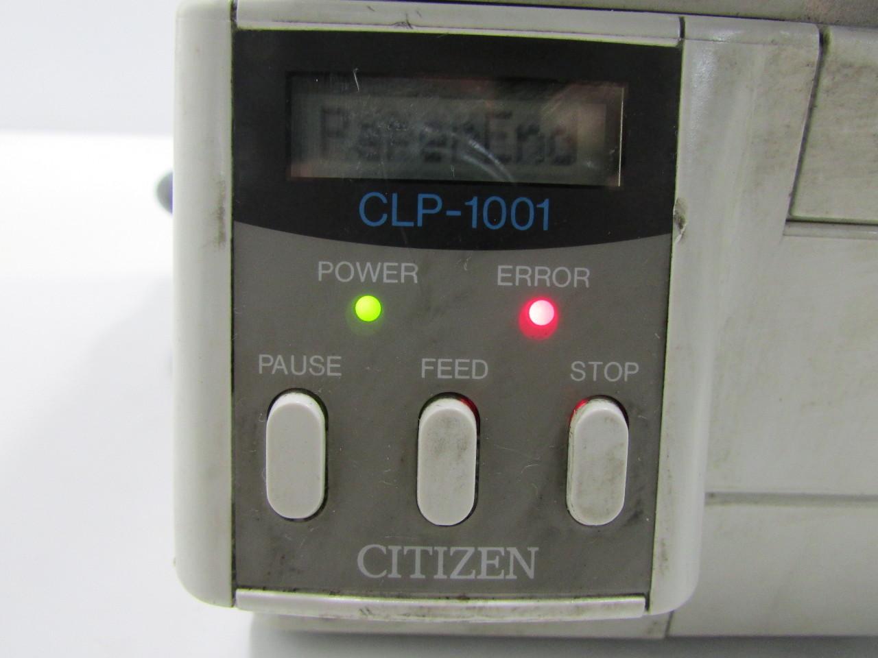 CITIZEN CLP 1001 DRIVERS FOR MAC