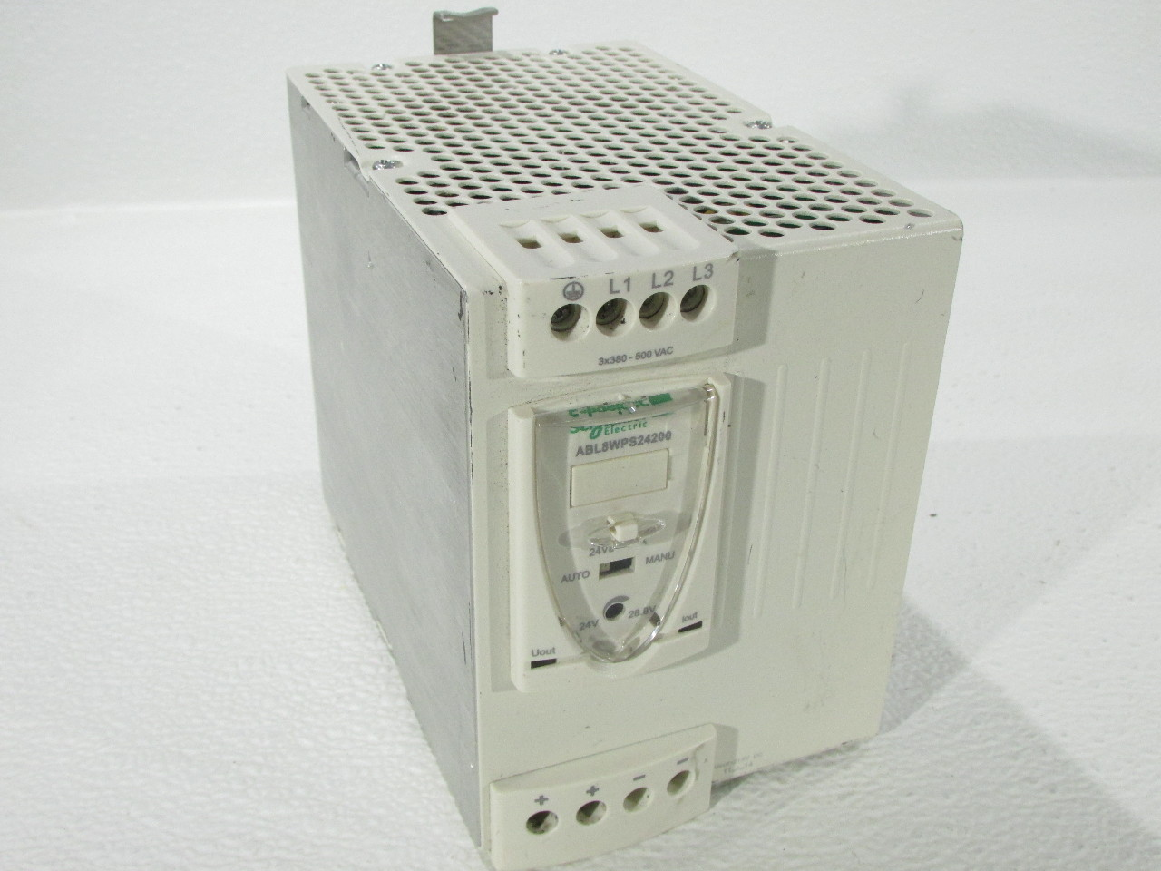 SCHNEIDER ELECTRIC ABL8WPS24200 POWER SUPPLY 24VDC 20AMP PHASEO | Premier  Equipment Solutions, Inc