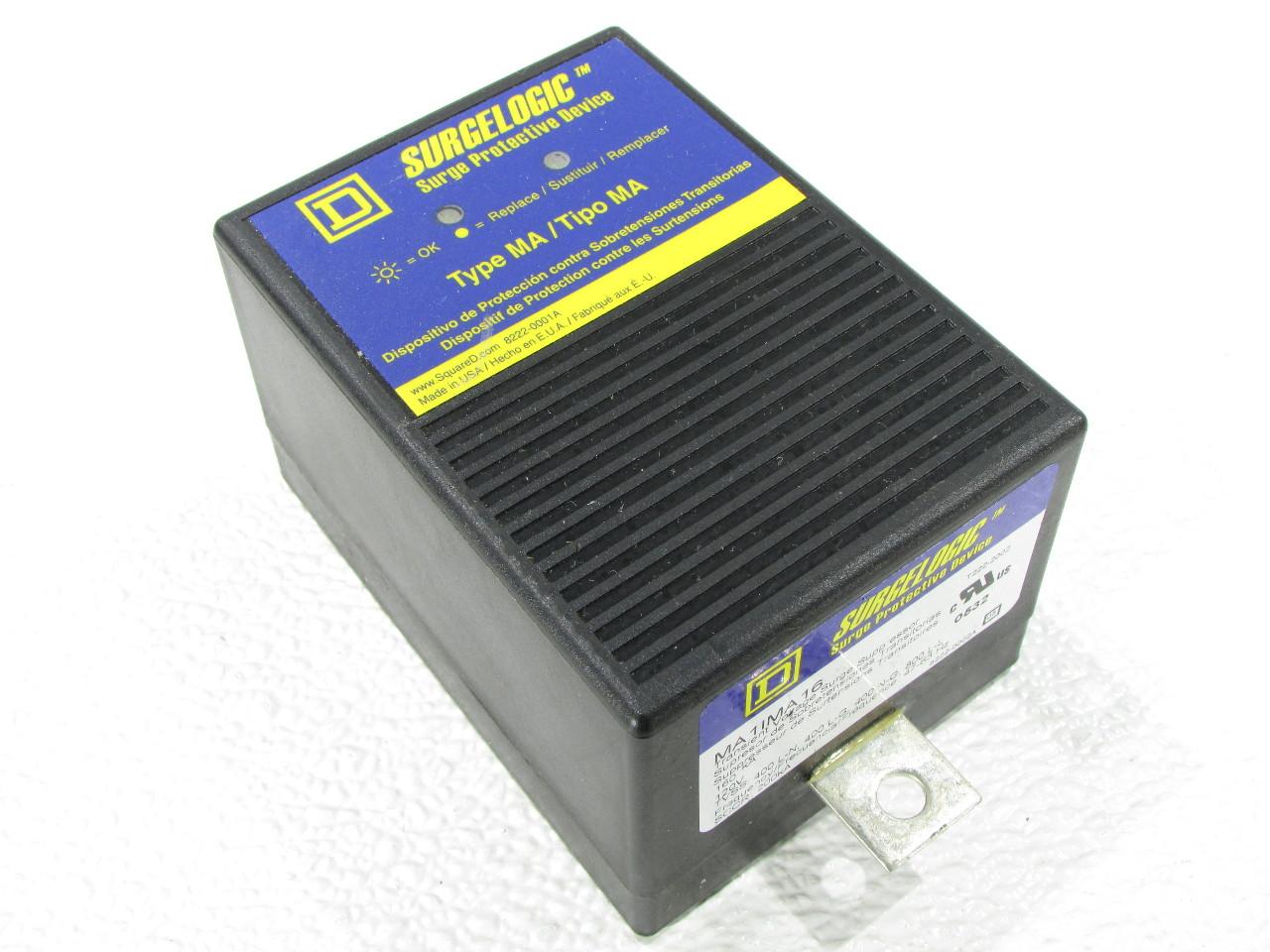 Square D Ma1ma16 Transient Surge Suppressor Surgelogic Premier Equipment Solutions Inc