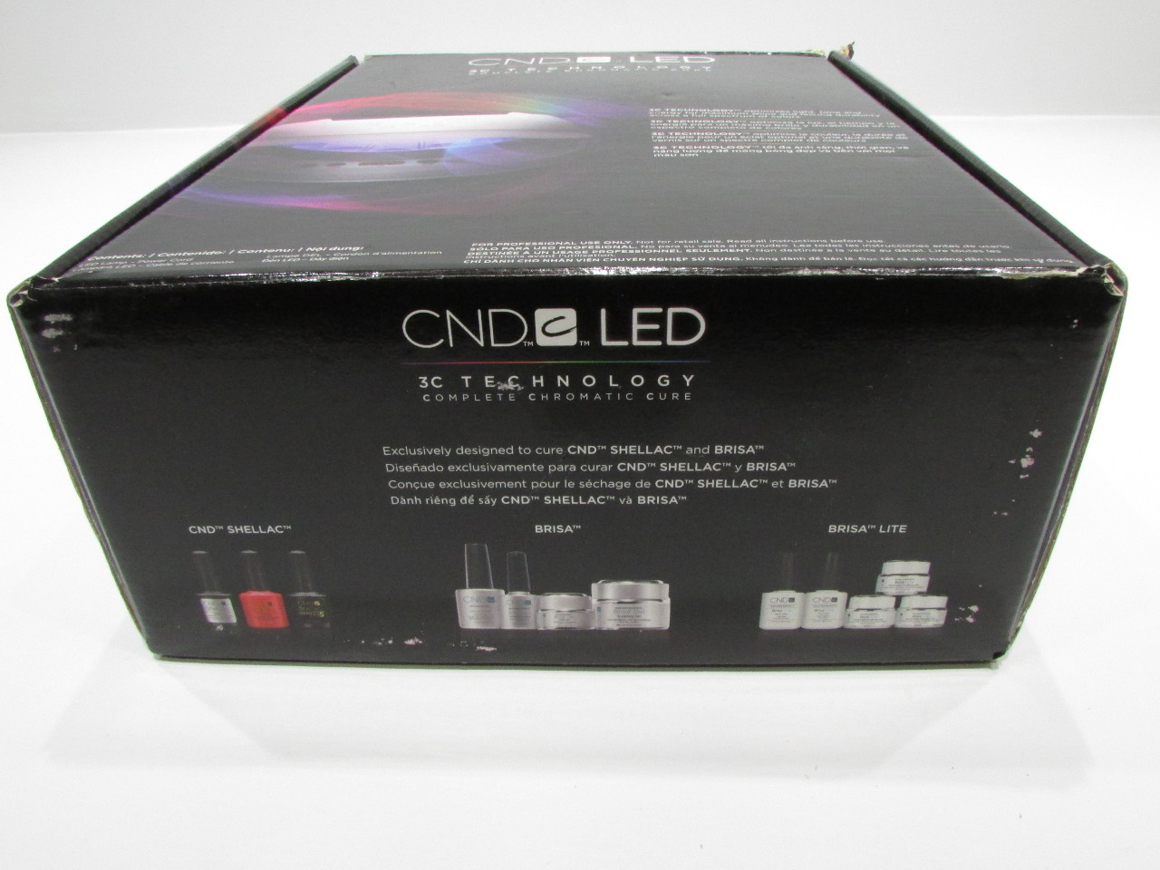 NEW CND LED LAMP 3C TECHNOLOGY COMPLETE CHROMATIC CURE | eBay