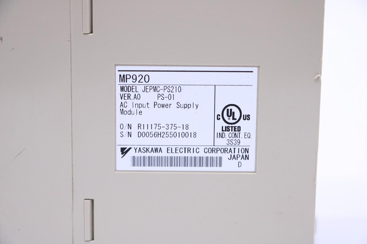 YASKAWA ELECTRIC JEPMC-PS210 POWER SUPPLY MODULE