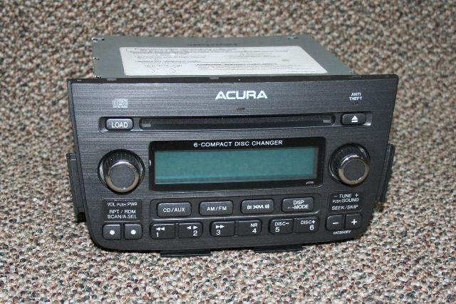 Acura 6-compact Disk Changer Radio