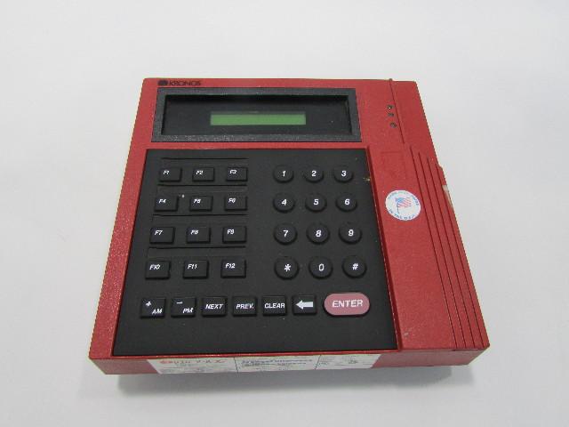 KRONOS 420G GATE TIME CLOCK 8600615-005