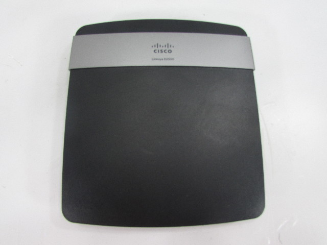 CISCO E2500 4 PORT WIRELESS ROUTER