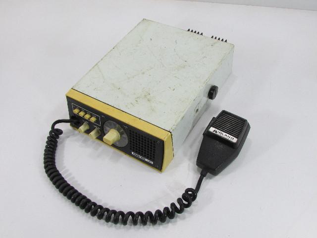 PRESIDENT 120 MARINE RADIO w/ MIDLAND MICROPHONE