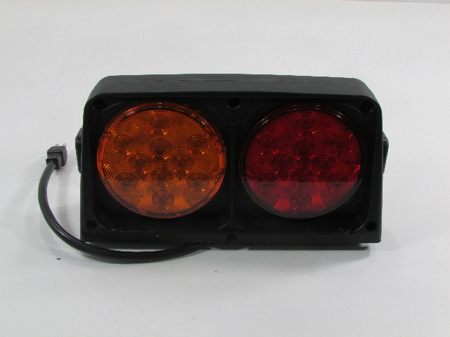 WESBAR 54209-008 DUAL HEAVY DUTY AG LIGHTS WITH RED/AMBER LIGHT FUNCTION
