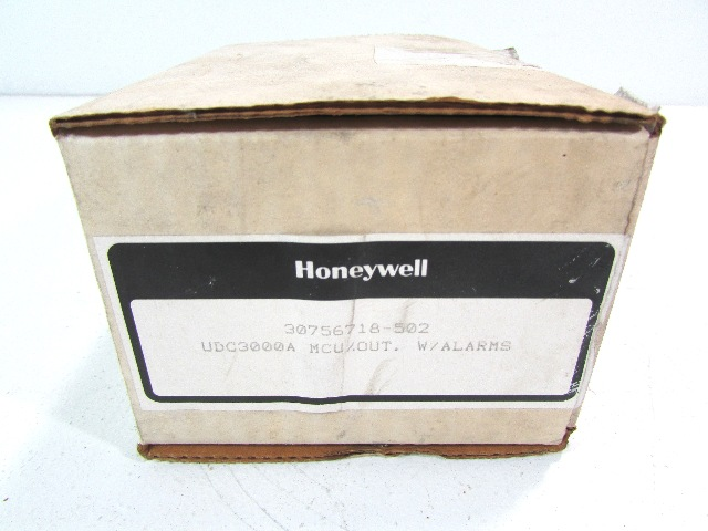 * NEW HONEYWELL UDC3000A 30756718-502 MCU/OUT WI ALARMS