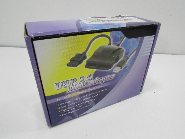 NEW PRO SIGNAL USB 2.0 IDE ADAPTER