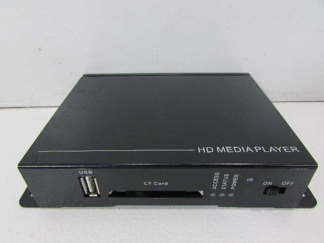 HD MEDIA PLAYER 305330-77-70A2 DC 12V VGA