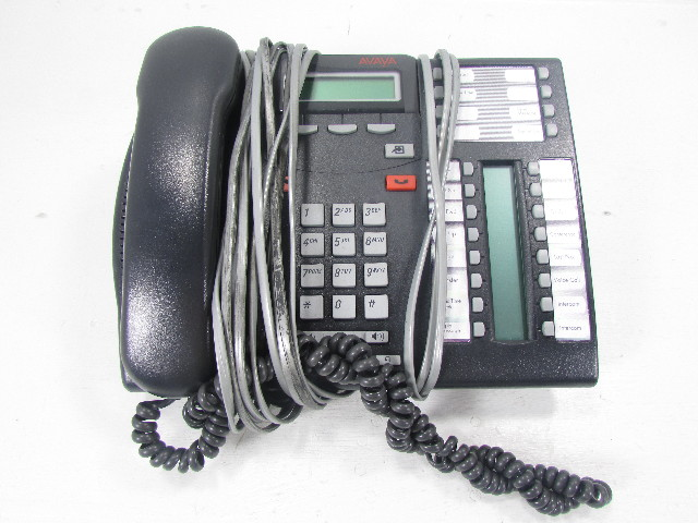 AVAYA 7316E NT8B27JAMAE6 CHARCOAL BUSINESS PHONE