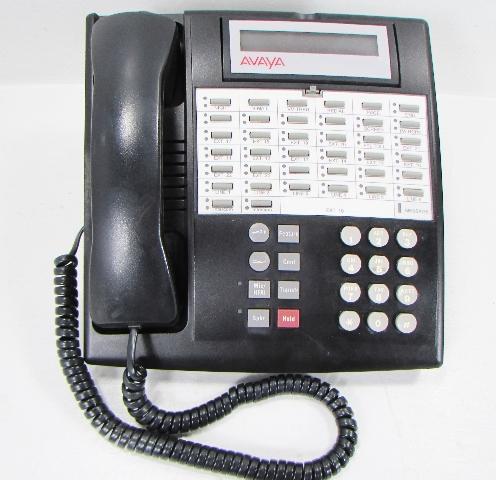 AVAYA 34D 107 305 054 R PHONE TELEPHONE BLACK