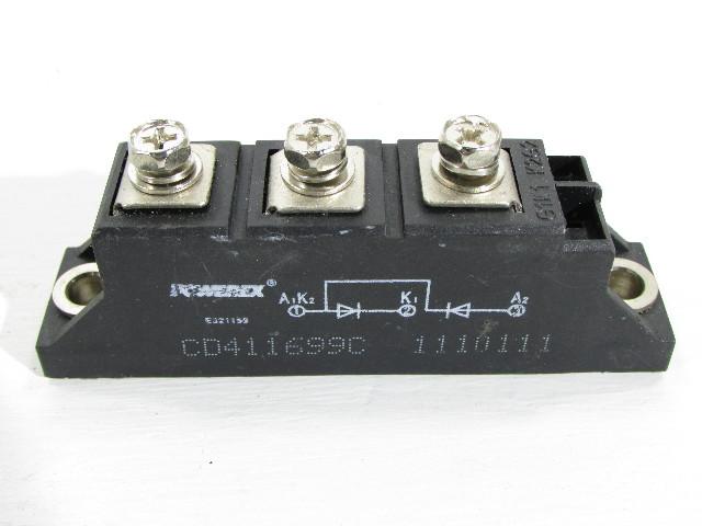 NEW POWEREX CD411699C RECTIFIER MODULE 100AMP 1.6KV
