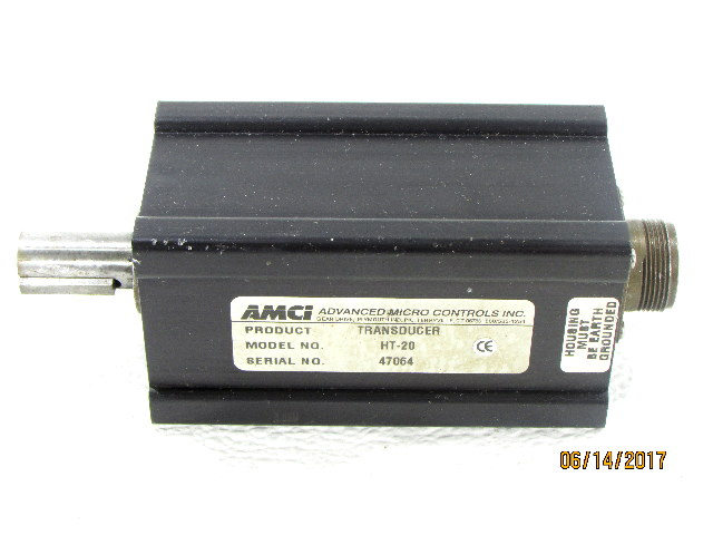AMCI HT-20 ADVANCED MICRO CONTROLS GEARED RESOLVER
