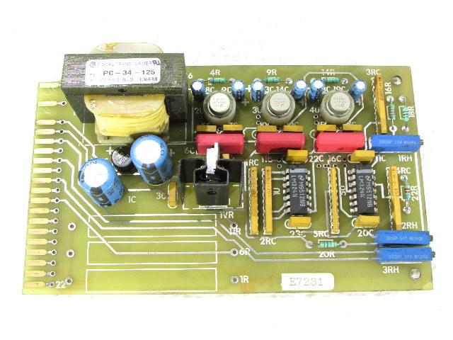 * SIGNAL TRANSFORMER PC-34-125 W/ PC BOARD