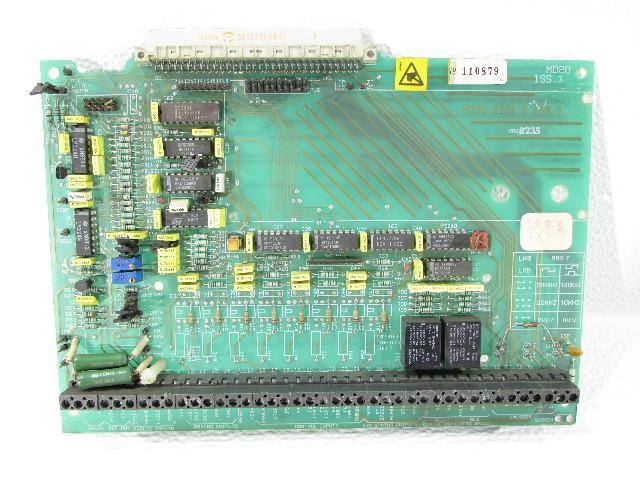 EMERSON  CONTROL TECHNIQUES MD20 ME8235 CONTROL BOARD