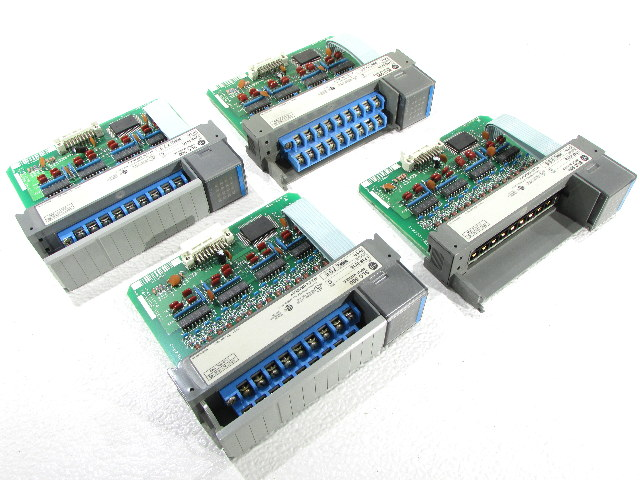 * LOT OF (4) ALLEN BRADLEY 1746-IV16 INPUT OUTPUT MODULE *WARRANTY*