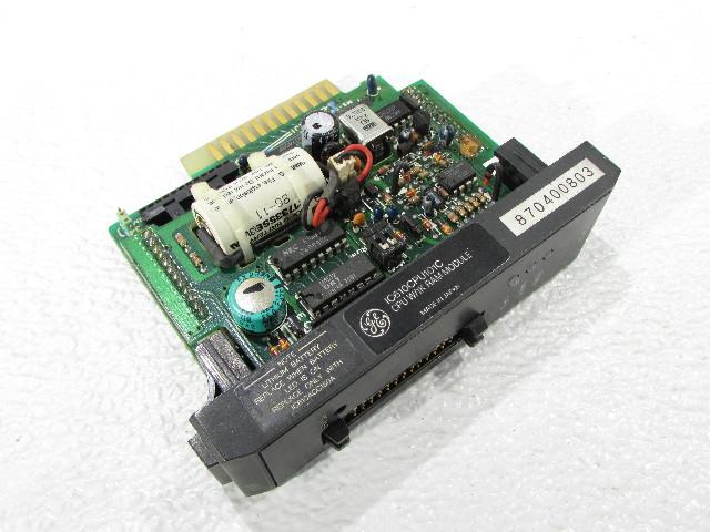 GENERAL ELECTRIC IC610CPU101C CPU 1K RAM MODULE