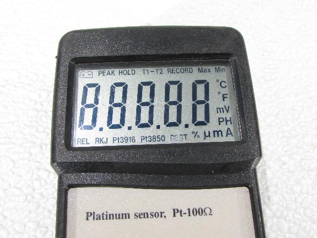 PRECISION PT-100 PLATINUM SENSOR THERMOMETER