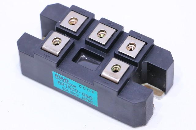 * FUJI 6RI50E-060 RECTIFIER BLOCK MODULE 50A 600V