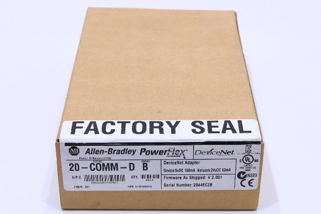 * NEW SEALED ALLEN BRADLEY 20-COMM-D POWERFLEX DEVICENET ADAPTER