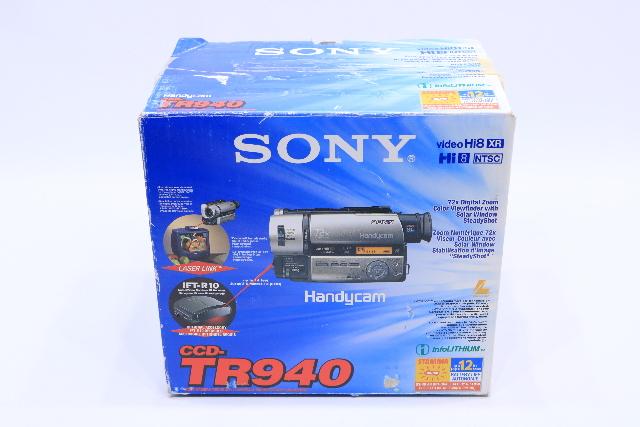 c NEW SONY CCD-TR940 VIDEO CAMERA RECORDER