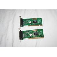 Lot of 2 StarTech.com  MP9715P-2 Printer Port Card