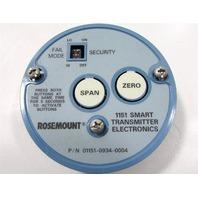 ROSEMOUNT 01151-0934-0204 1151 SMART TRANSMITTER ELECTRONICS CAP