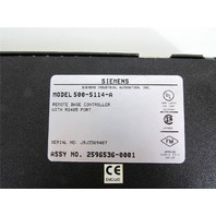 Siemens 500-5114-A Processor Remote Base Controller with RS485 Port
