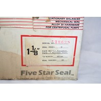"* SLURRY FLUID SEAL FIVE STAR SERIES 85 1-1/8"" SHAFT DIA. ALLOY 20 NEW"