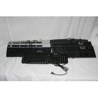 Dell SK-8115, Y-U003-DEL5, SK-8110, HP KU-0316, KB-0133, NEC Keyboard Lot of 7