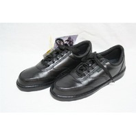 ~ Rocky Womens Athletic Black Oxford Leather Shoes size 9.5 M 911-210 New