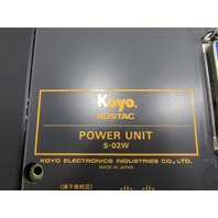 KOYO KOSTAC POWER UNIT