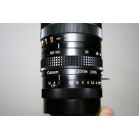 ` CANON LENS 10x16 16-160mm 1:2.2 No. 004052