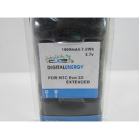 DIGITAL ENERGY 1900mAh 7.0Wh 3.7V BATTERY FOR HTC