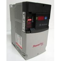 * ALLEN BRADLEY POWERFLEX 40P 22D-D1P4N104 DRIVE 380-480VAC 3PH DISPLAY W/RESET
