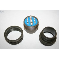 NEW AMPHENOL INDUSTRIAL  97-3106A28-1S  CIRCULAR CONNECTOR PLUG, SIZE 28, 9POS, CABLE