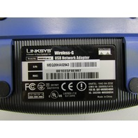 LINKSYS WUSB54G VER. 4 WIRELESS-G 2.4Ghz USB NETWORK ADAPTER