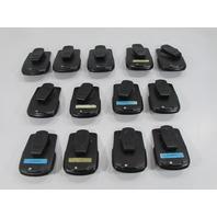 LOT OF 13 BLACKBERRY PHONES CASES W/CLIPS