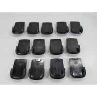 LOT OF 13 BLACKBERRY PHONES CASES W/CLIPS