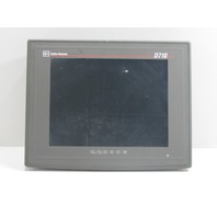 ` CUTLER HAMMER D710 D7DBA15STA1XXX OPERATOR INTERFACE 15INCH TOUCHSCREEN