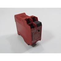 ALLEN BRADLEY MSR138.1DP GUARD MASTER SAFETY RELAY 440R-M23082 115 VAC