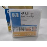 NEW PACK OF FIVE HP LTO-3 ULTRIUM RW 400GB DATA CARTRIDGE
