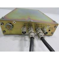 MICROWAVE ASSOCIATES MODULATOR TX REMOTE STL 4.83 801870-1 SER 545 AUDIO MOD REV. T
