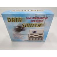 NEW MULTICOMP  SPC19773  DATA SWITCH BOX
