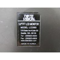 "TOTE VISION TOTEVISION LCD5625 5.6"" TFT LCD COLOR MONITOR"