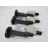 LOT OF 3 GOLDEN EYE B/W CCD CAMERA GS-1001CC WITH MOUNTING BRACKET