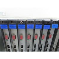 * RELIANCE ELECTRIC 0-5756-0 16 SLOT CHASSIS  W/ MODULES *EXLNT*