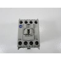 * ALLEN BRADLEY 100-C09*10 CONTRACTOR 25 AMP 600VAC