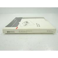 HP 3396 SERIES III INTEGRATOR OPERATING MANUAL