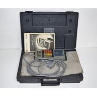 * ALLEN BRADLEY 1770-T11 HANDHELD TERMINAL W/ 1770-XI CARRYING CASE